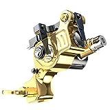 Dragonhawk EX-2 Rotary Tattoo Machine Brass Frame Steel Spring Adjustable Stroke Length Tattoo...