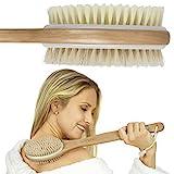 Vive Shower Brush - Dry Skin Body Exfoliator - Shower and Bath Scrubber For Wash Brushing,...