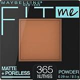 Maybelline New York Fit Me Matte + Poreless Powder Makeup, Nutmeg, 0.29 Ounce, Pack of 1