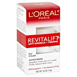 L'Oreal Paris Skincare Revitalift Anti-Wrinkle and Firming Eye Cream with Pro Retinol,...