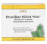 GiGi Brazilian Bikini Waxing Microwave Formula, Home Hair Removal Kit