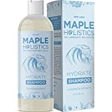 Dry Scalp Shampoo for Dry Hair - Clarifying Shampoo for Men and Women plus Hair Moisturizer for Dry Damaged Hair Care - Ultra Hydrating Shampoo for Flakes with Keratin Almond Oil and Silk Peptides