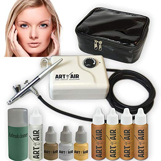 Art of air in medium complexion professional airbrush cosmetic makeup system