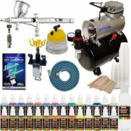 Complete Professional Airbrush System Kit reviw