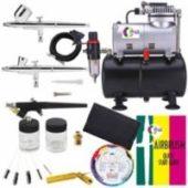 OPHIR 110V Pro Airbrush Kit