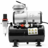 PointZero Airbrush Compressor with tank