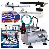 Point zero airbrush dual action airbrush kit