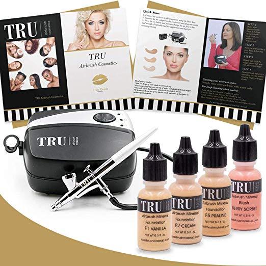 TRU airbrush makeup kit light or medium