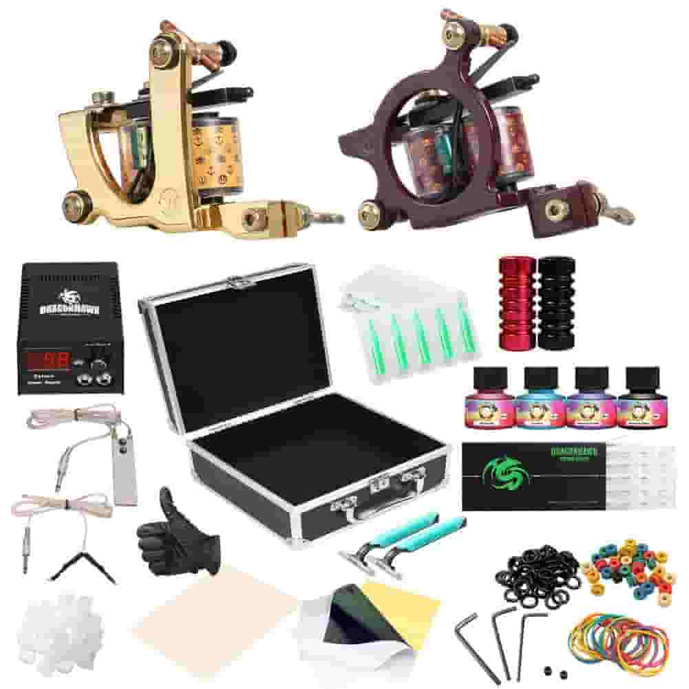 Dragonhawk Complete Tattoo Kit for professionals