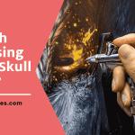 How To Airbrush Skull Using Simple Skull Stencil