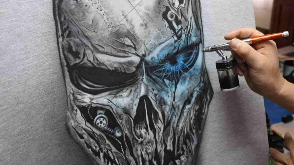 How To Airbrush Skulls For Beginners