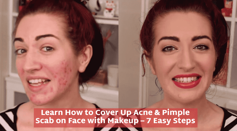 How to Cover Up a Scab on Face with Makeup